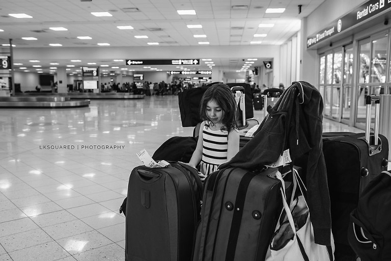 ft myers airport with luggage
