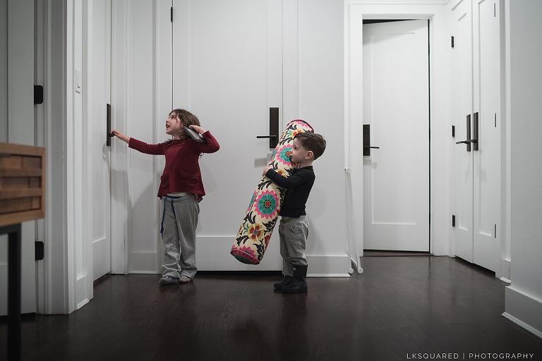 entering big sister's room